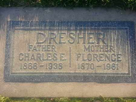 DERSHER, FLORENCE - Los Angeles County, California | FLORENCE DERSHER - California Gravestone Photos