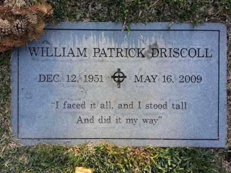 DRISCOLL, WILLIAM PATRICK - Los Angeles County, California | WILLIAM PATRICK DRISCOLL - California Gravestone Photos