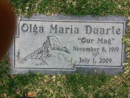 DUARTE, OLGA - Los Angeles County, California | OLGA DUARTE - California Gravestone Photos