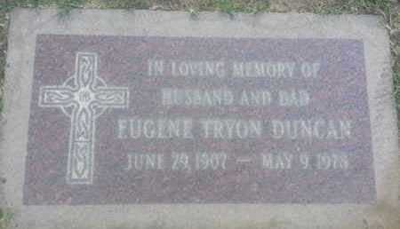 DUNCAN, EUGENE - Los Angeles County, California   EUGENE DUNCAN - California Gravestone Photos