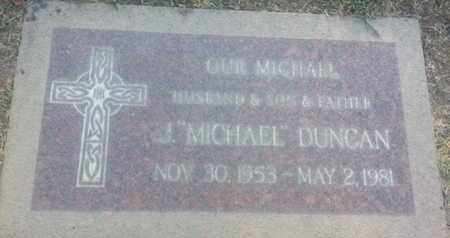 DUNCAN, MICHAEL - Los Angeles County, California | MICHAEL DUNCAN - California Gravestone Photos