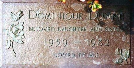 DUNNE, DOMINIQUE ELLEN (ACTOR) - Los Angeles County, California   DOMINIQUE ELLEN (ACTOR) DUNNE - California Gravestone Photos