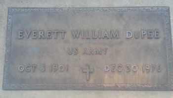 DUPEE, EVERETT - Los Angeles County, California | EVERETT DUPEE - California Gravestone Photos