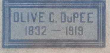 DUPEE, OLIVE - Los Angeles County, California | OLIVE DUPEE - California Gravestone Photos