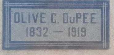 DUPEE, OLIVE - Los Angeles County, California | OLIVE DUPEE - California Gravestone Photos