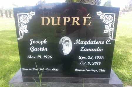 ZAMUDIO DUPRE', MAGDALENE - Los Angeles County, California | MAGDALENE ZAMUDIO DUPRE' - California Gravestone Photos