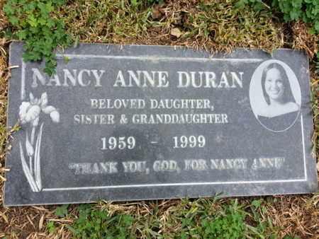 DURAN, NANCY ANNE - Los Angeles County, California | NANCY ANNE DURAN - California Gravestone Photos