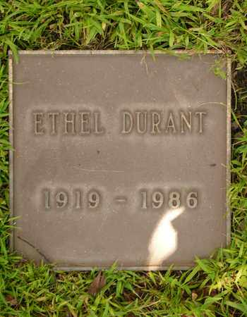 DURANT, ETHEL - Los Angeles County, California | ETHEL DURANT - California Gravestone Photos