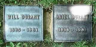 DURANT, ARIEL  [WRITER] - Los Angeles County, California | ARIEL  [WRITER] DURANT - California Gravestone Photos