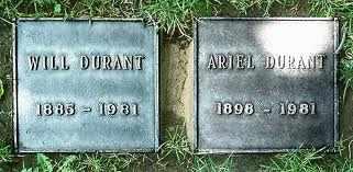 "DURANT, WILLIAM JAMES ""WILL""  [WRITER] - Los Angeles County, California | WILLIAM JAMES ""WILL""  [WRITER] DURANT - California Gravestone Photos"