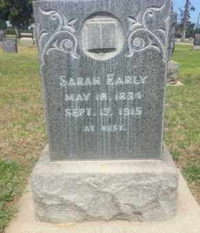 EARLY, SARAH - Los Angeles County, California | SARAH EARLY - California Gravestone Photos