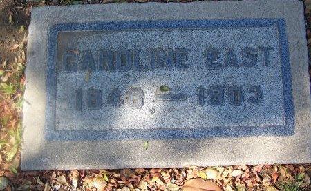 EAST, CAROLINE - Los Angeles County, California | CAROLINE EAST - California Gravestone Photos