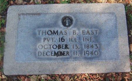 EAST (VETERAN CW), THOMAS B. - Los Angeles County, California | THOMAS B. EAST (VETERAN CW) - California Gravestone Photos