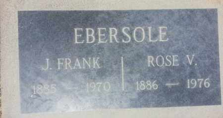 EBERSOLE, ROSE - Los Angeles County, California | ROSE EBERSOLE - California Gravestone Photos