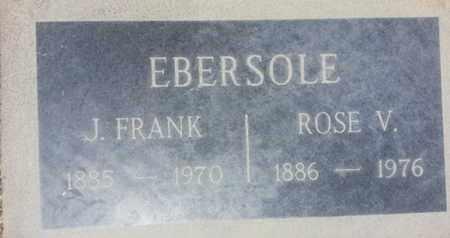 EBERSOLE, J. - Los Angeles County, California | J. EBERSOLE - California Gravestone Photos