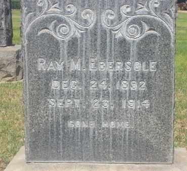 EBERSOLE, RAY - Los Angeles County, California | RAY EBERSOLE - California Gravestone Photos