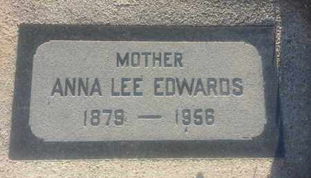 EDWARDS, ANNA - Los Angeles County, California | ANNA EDWARDS - California Gravestone Photos