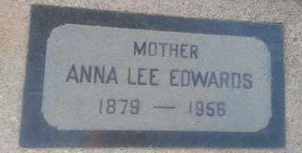 EDWARDS, ANNA - Los Angeles County, California   ANNA EDWARDS - California Gravestone Photos