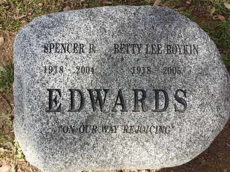 EDWARDS, SPENCER P. - Los Angeles County, California | SPENCER P. EDWARDS - California Gravestone Photos