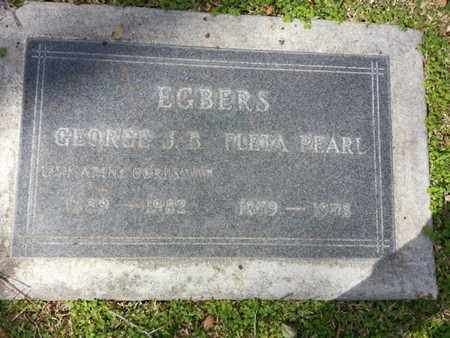 EGBERS, GEORGE J. B. - Los Angeles County, California | GEORGE J. B. EGBERS - California Gravestone Photos