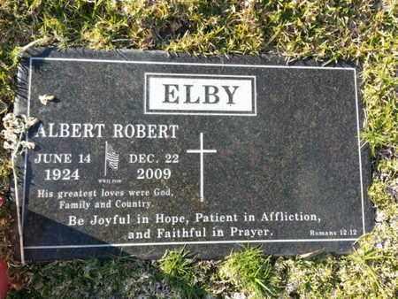 ELBY, ALBERT ROBERT - Los Angeles County, California   ALBERT ROBERT ELBY - California Gravestone Photos