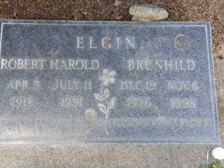 ELGIN, BRUNHILD - Los Angeles County, California   BRUNHILD ELGIN - California Gravestone Photos