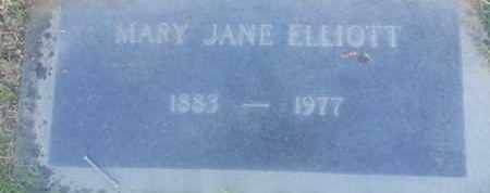 ELLIOTT, MARY - Los Angeles County, California | MARY ELLIOTT - California Gravestone Photos