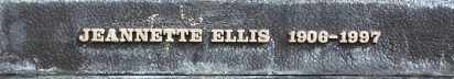 ELLIS, JEANNETTE - Los Angeles County, California | JEANNETTE ELLIS - California Gravestone Photos