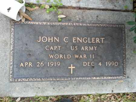 ENGLERT, JOHN C. - Los Angeles County, California | JOHN C. ENGLERT - California Gravestone Photos