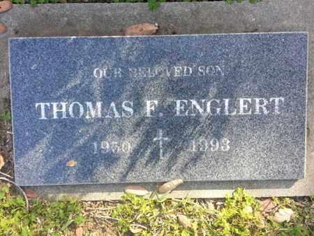 ENGLERT, THOMAS F. - Los Angeles County, California   THOMAS F. ENGLERT - California Gravestone Photos