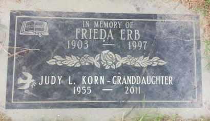 ERB, FRIEDA - Los Angeles County, California | FRIEDA ERB - California Gravestone Photos