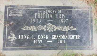 KORN, JUDY - Los Angeles County, California | JUDY KORN - California Gravestone Photos