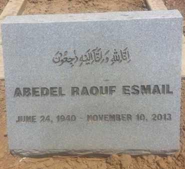 ESMAIL, ABEDEL - Los Angeles County, California   ABEDEL ESMAIL - California Gravestone Photos