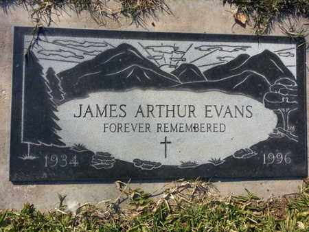 EVANS, JAMES ARTHUR - Los Angeles County, California | JAMES ARTHUR EVANS - California Gravestone Photos