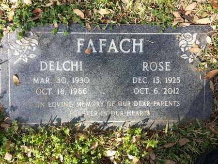 FAFACH, ROSE - Los Angeles County, California | ROSE FAFACH - California Gravestone Photos