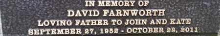 FARNWORTH, DAVID - Los Angeles County, California | DAVID FARNWORTH - California Gravestone Photos