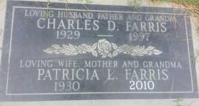 FARRIS, PAATRICIA - Los Angeles County, California | PAATRICIA FARRIS - California Gravestone Photos
