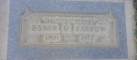 FARROW, ESKER - Los Angeles County, California | ESKER FARROW - California Gravestone Photos