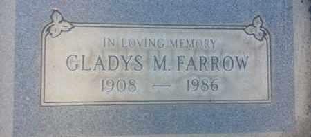 FARROW, GLADYS - Los Angeles County, California | GLADYS FARROW - California Gravestone Photos