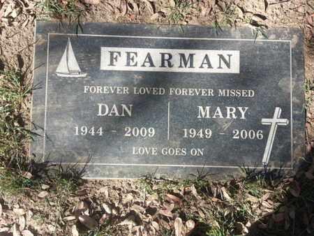 FEARMAN, MARY - Los Angeles County, California | MARY FEARMAN - California Gravestone Photos