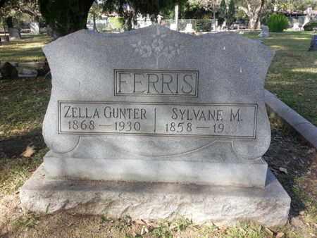 FERRIS, ZELLA - Los Angeles County, California   ZELLA FERRIS - California Gravestone Photos