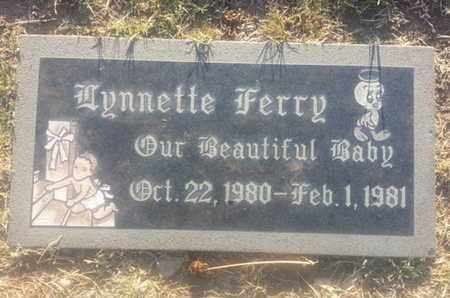 FERRY, LYNNETTE - Los Angeles County, California | LYNNETTE FERRY - California Gravestone Photos