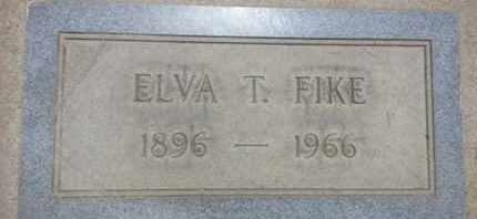 FIKE, ELVA - Los Angeles County, California | ELVA FIKE - California Gravestone Photos