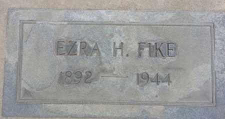 FIKE, EZRA - Los Angeles County, California | EZRA FIKE - California Gravestone Photos