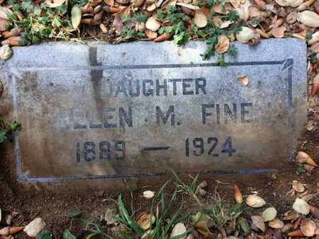 FINE, HELEN - Los Angeles County, California | HELEN FINE - California Gravestone Photos