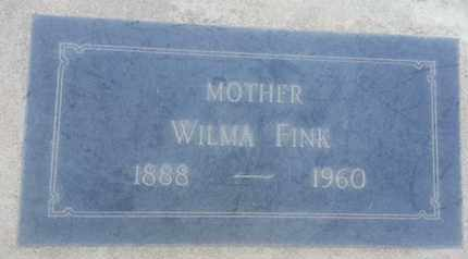 FINK, WILMA - Los Angeles County, California | WILMA FINK - California Gravestone Photos