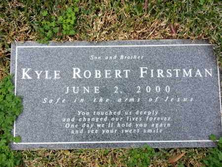 FIRSTMAN, KYLE ROBERT - Los Angeles County, California | KYLE ROBERT FIRSTMAN - California Gravestone Photos