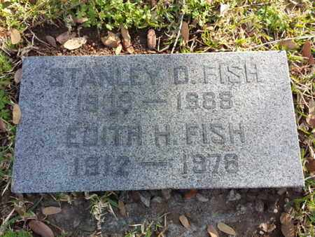 FISH, STANLEY D. - Los Angeles County, California | STANLEY D. FISH - California Gravestone Photos