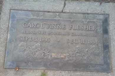 FISHER, CAROL - Los Angeles County, California | CAROL FISHER - California Gravestone Photos