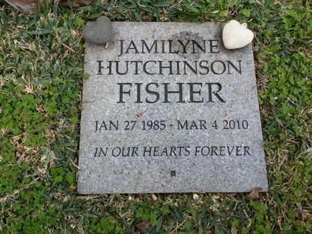HUTCHINSON FISHER, JAMILYNE - Los Angeles County, California | JAMILYNE HUTCHINSON FISHER - California Gravestone Photos